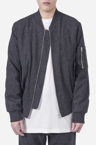 Harmony - Mark Bomber Dark Grey