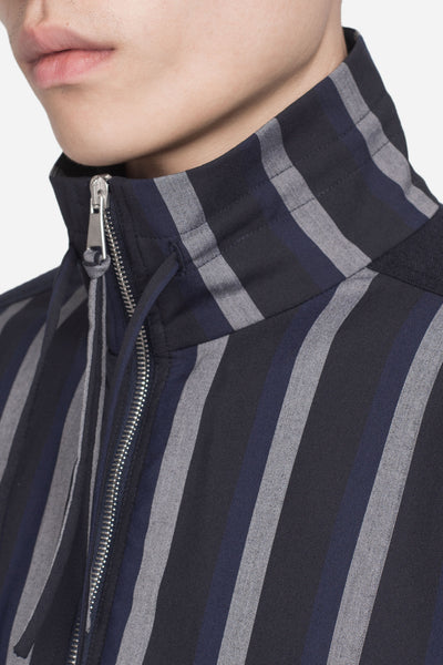Formosa Court Jacket Greystone / Nightfall Stripes