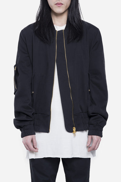 Off-White - Military Bomber Black