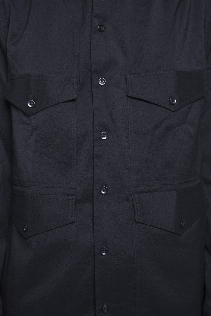 4 Pocket Shirt Black