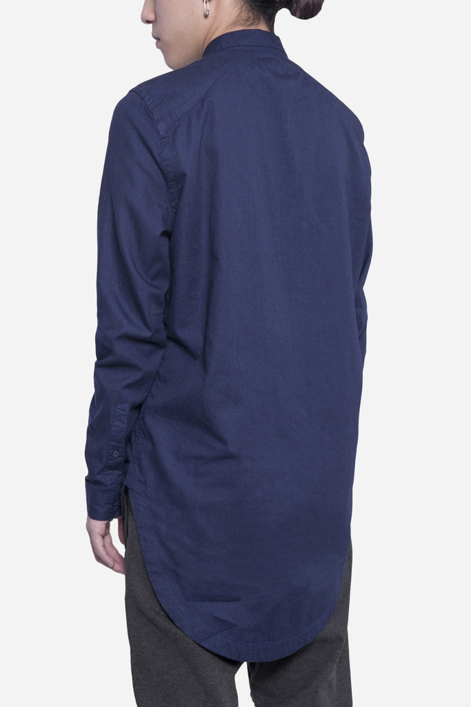 Carm Long Shirt Navy