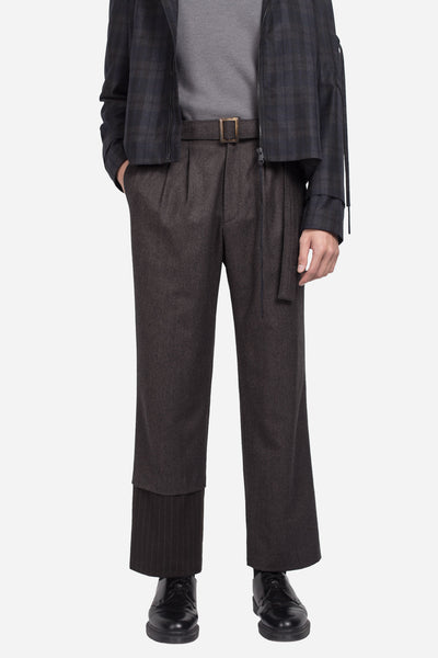 seven seconds of memory - Hank Loose Trouser Vintage Brown