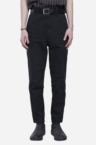 robert geller - The Washed Dress Pant Black