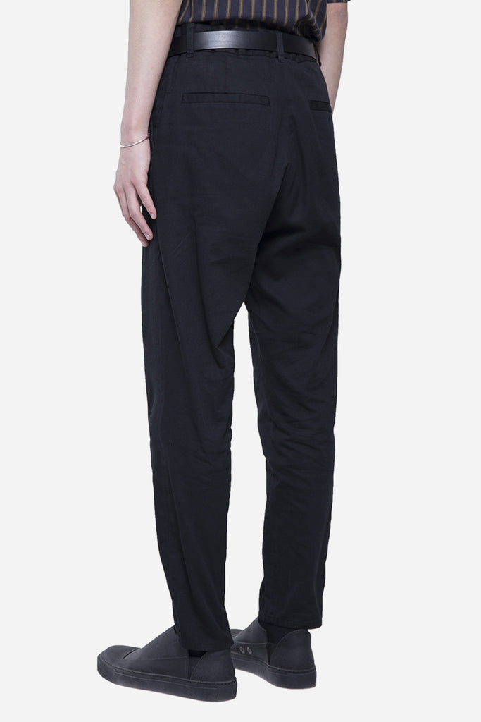 The Washed Dress Pant Black