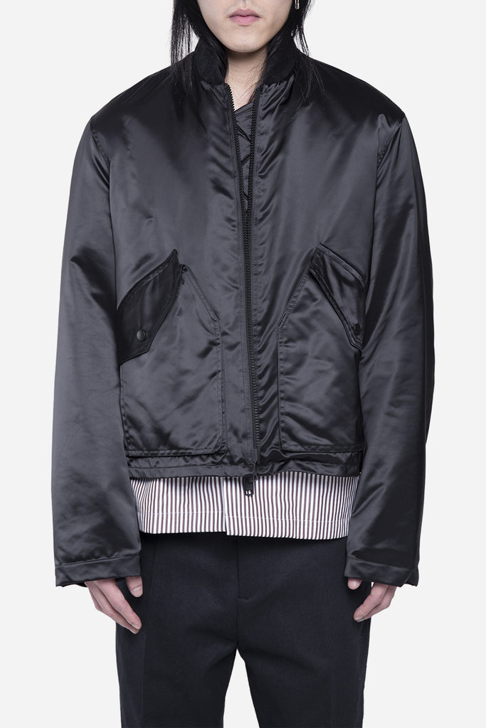 Ronan Bomber Jacket Black