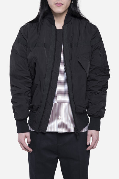 CMMN SWDN - Hunter Bomber Jacket Black