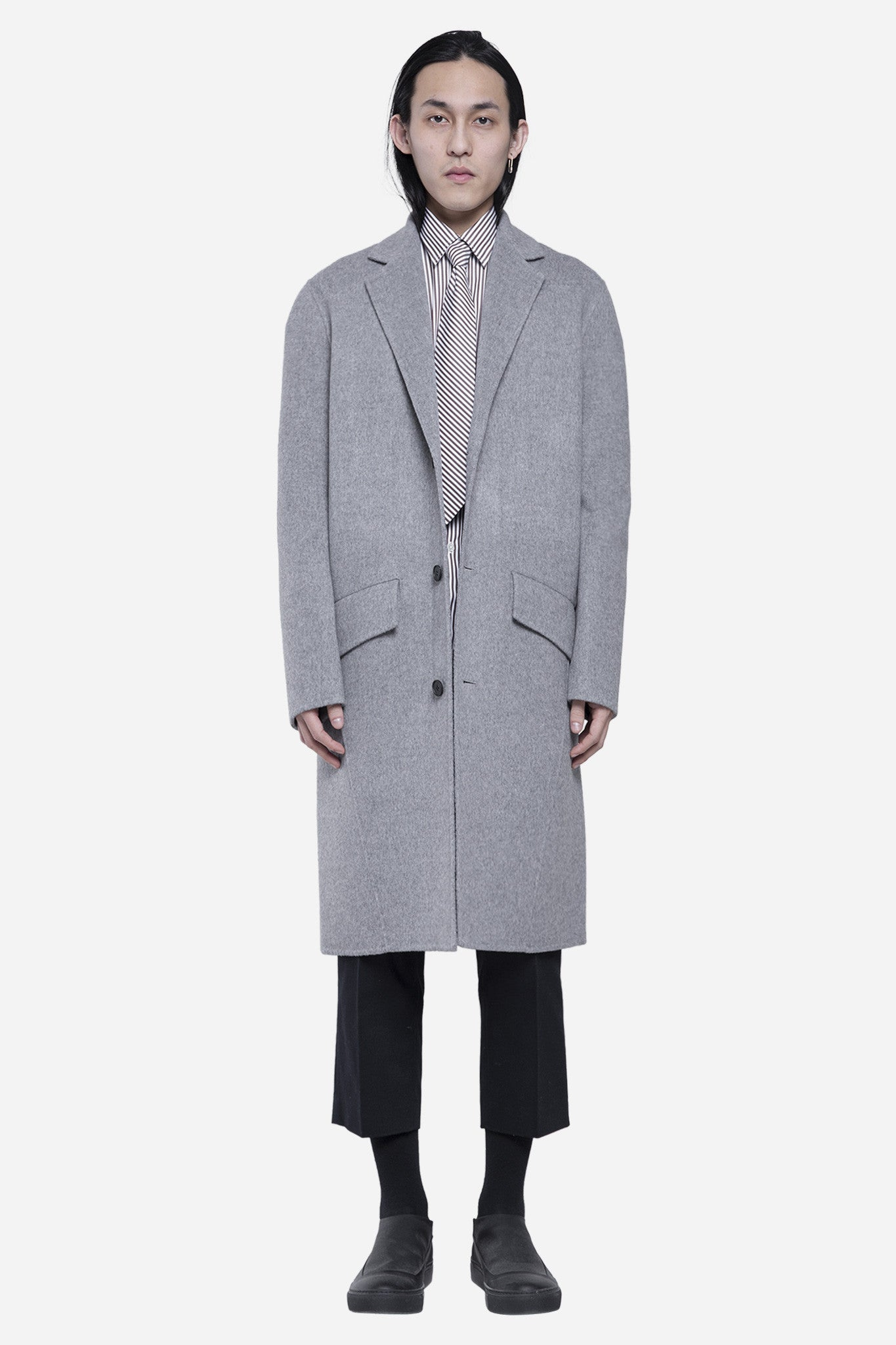 Aiden Coat Light Grey