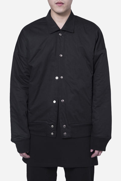 Wilfry - Drop Shoulder Coach Jacket Black