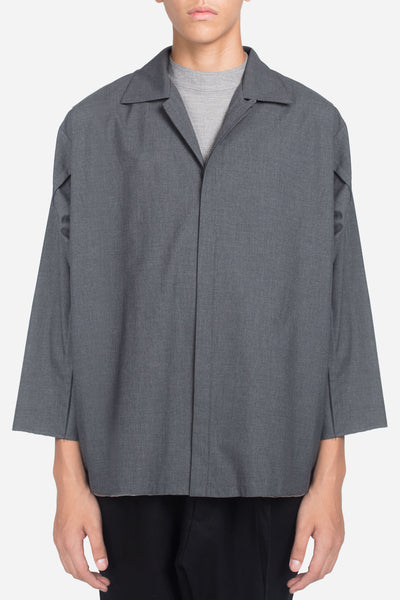 Seven Seconds of Memory - Lok Loose Leisure Shirt Gris