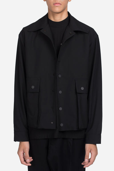 Seven Seconds of Memory - Lou Cropped Jacket Dry Onyx
