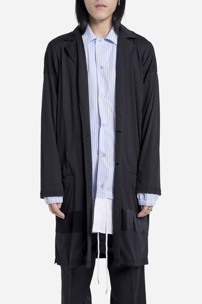 Casely Hayford - Cole Long Jersey Cardigan Black
