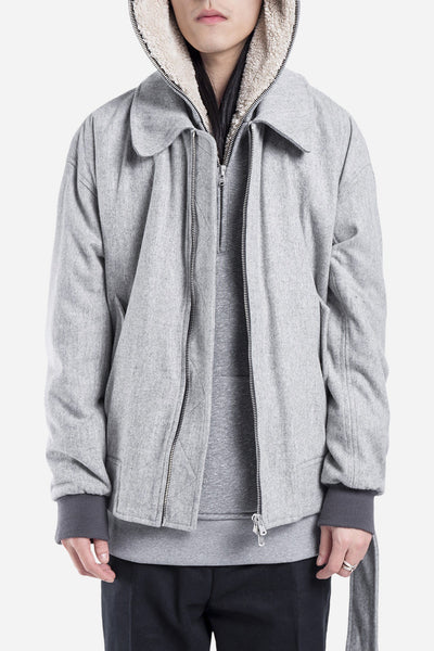 Fear of God - Collared Bomber Grey