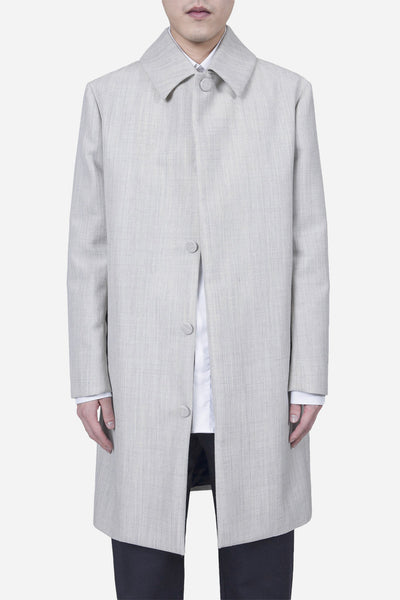 Matthew Miller - Rane Rain Coat Grey