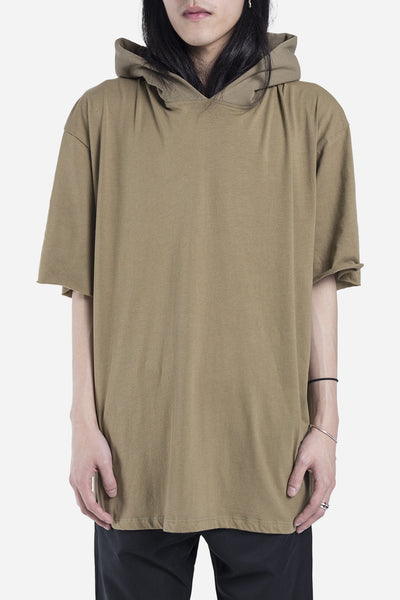 Mr. Completely - Big Tee Hoodie Olive