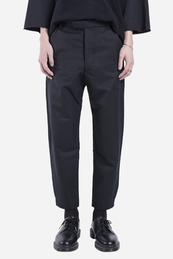 Cropped Trouser Black