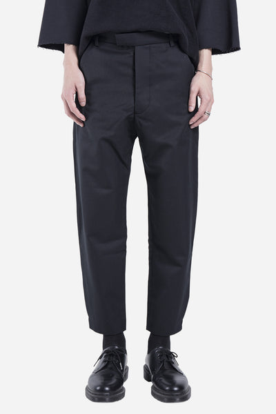 Matthew Miller - Cropped Trouser Black
