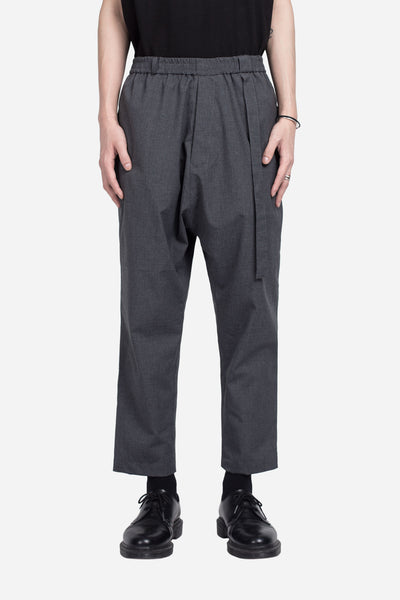 Seven Seconds of Memory - Mich Cropped Casual Trouser Labor Grey
