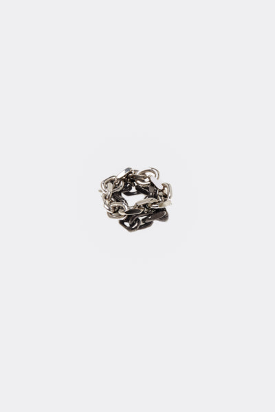 Maison Margiela - Ring Silver/Black