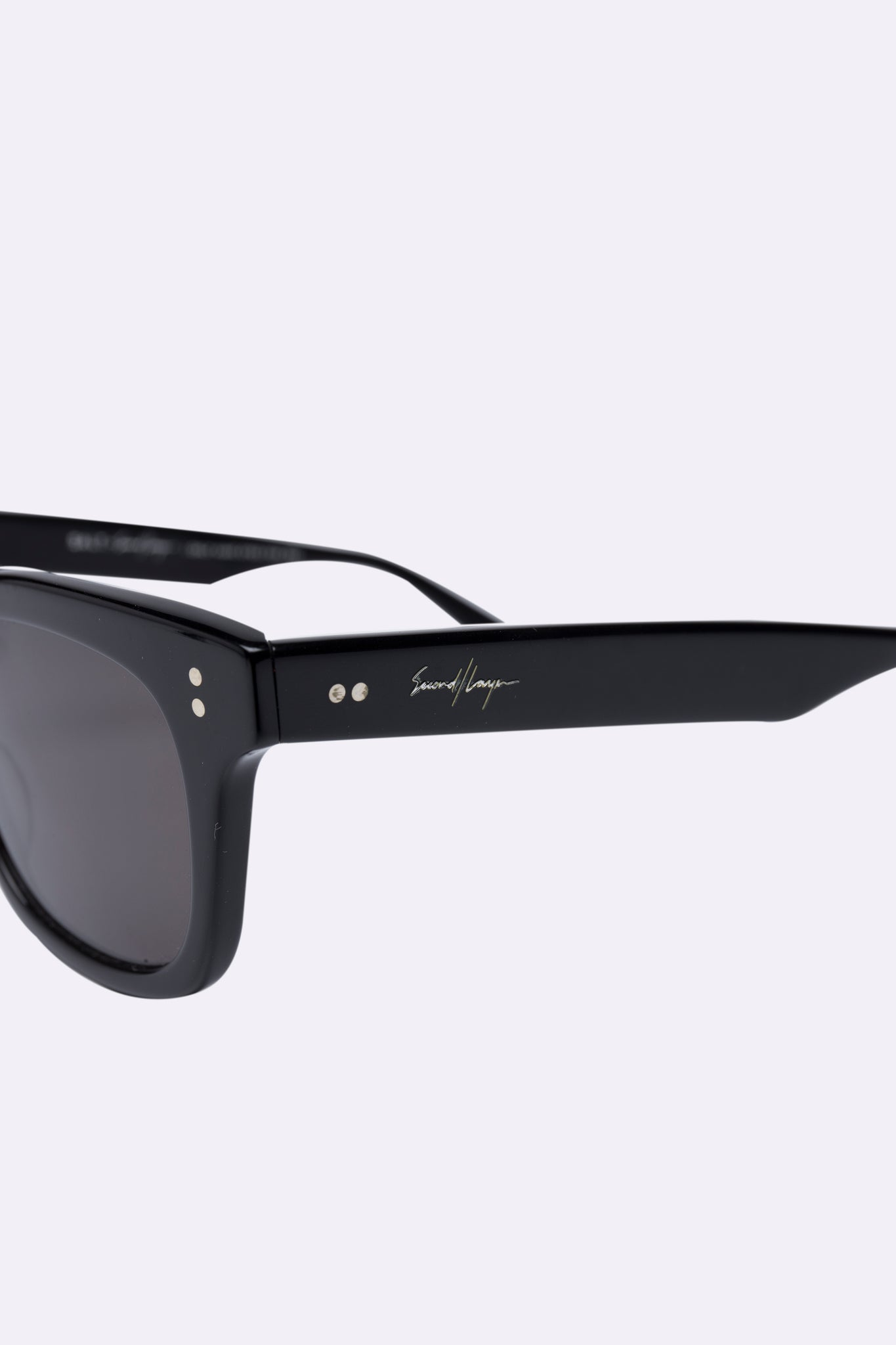 Salt. x Second/Layer Sunglasses Black Polarized
