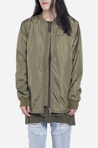 Stampd - Scalloped Bomber Olive