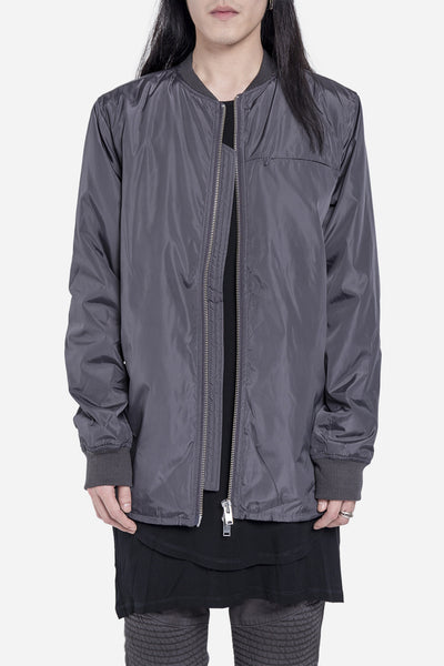 Stampd - Scalloped Bomber Charcoal
