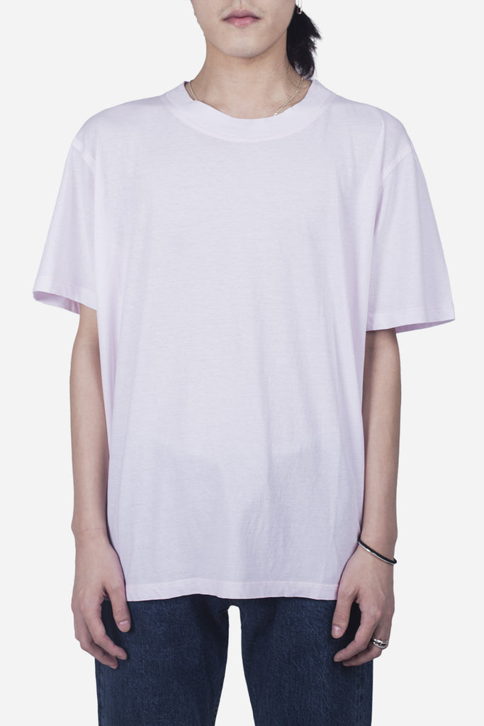 Essential Mock Tee Almost Mauve