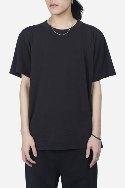 Second / Layer - Essential Mock Tee Washed Black