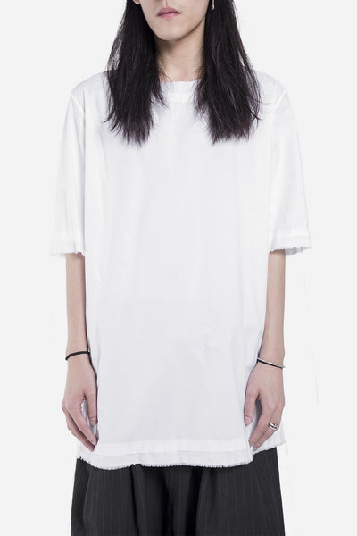 damir doma - Tireo Stitched Top Shirt White