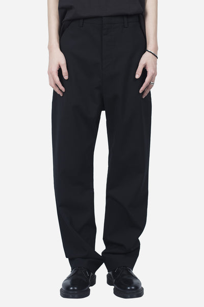 Second / Layer - Oversized Trouser Black