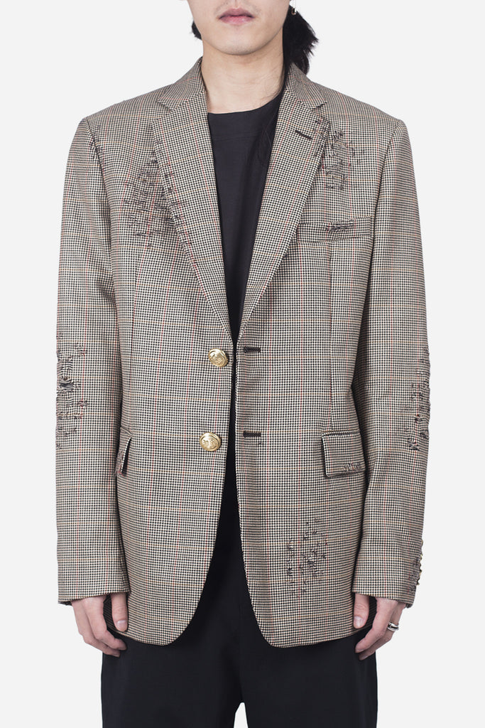 Ripped Classic Blazer Prince