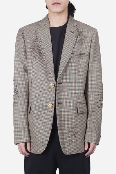 palm angels - Ripped Classic Blazer Prince