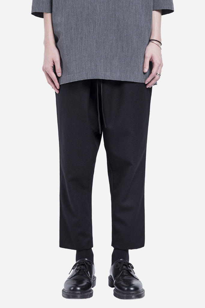 Mich Wool Trouser Dry Onyx