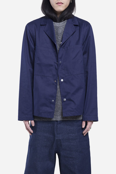 Agi & Sam - Wool Lab Jacket Navy
