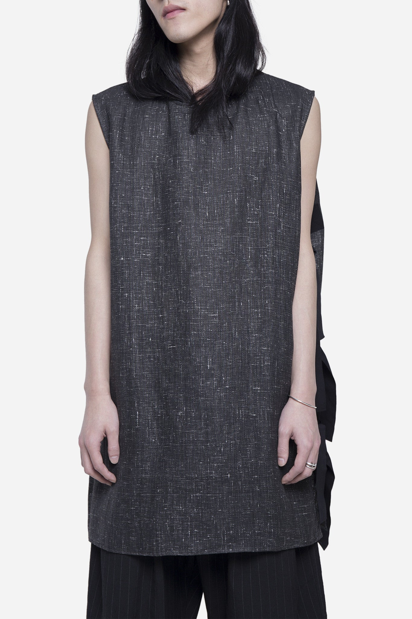 Tyra Sleeveless Tank Concrete