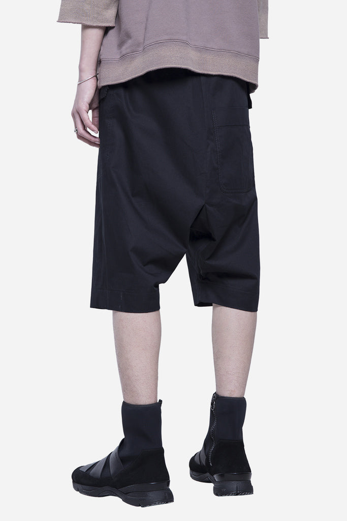 Poline Drawstring Shorts Coal