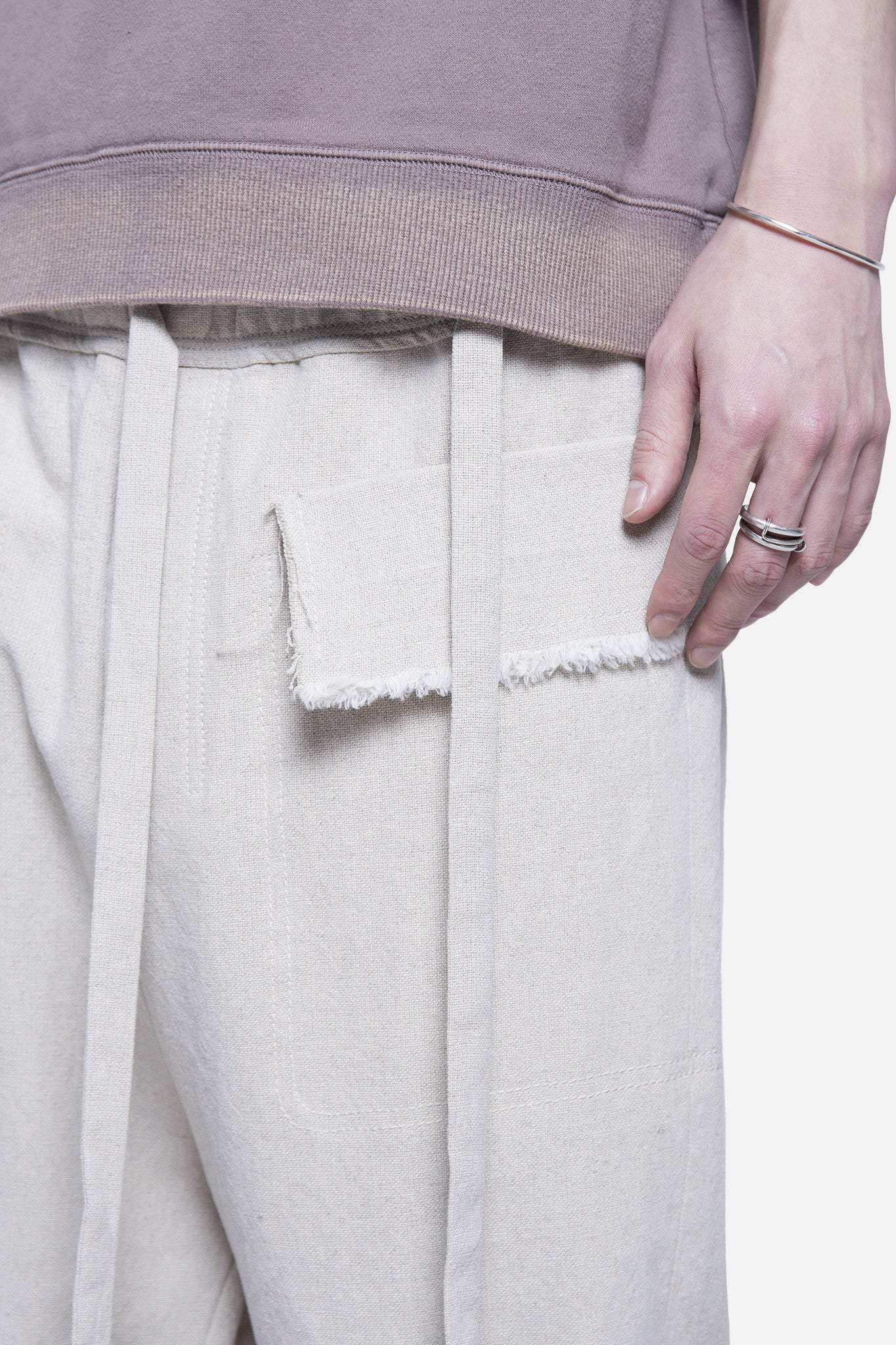 Polate Drawstring Trouser Beige