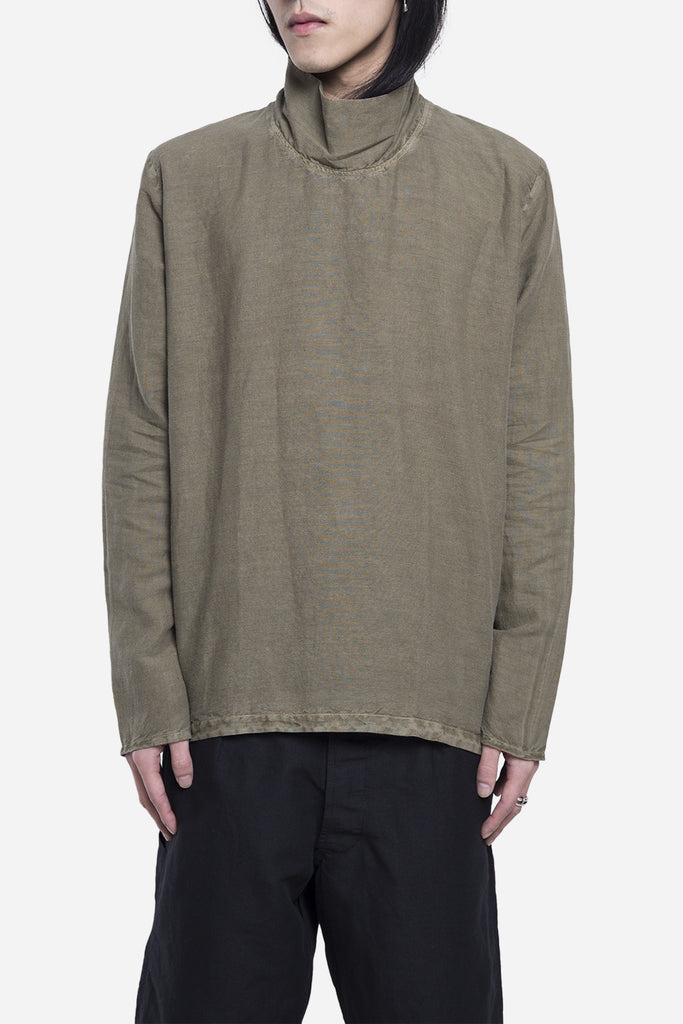 Weaved Turtleneck Olivine