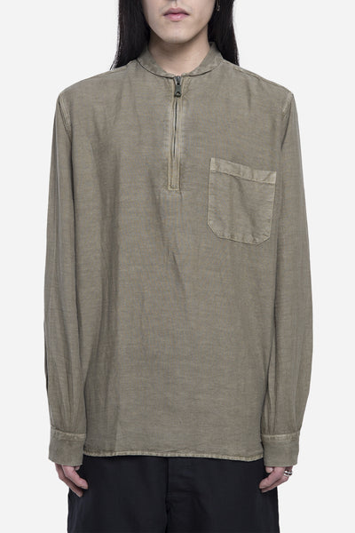 Our Legacy - Shawl Zip Shirt Olivine