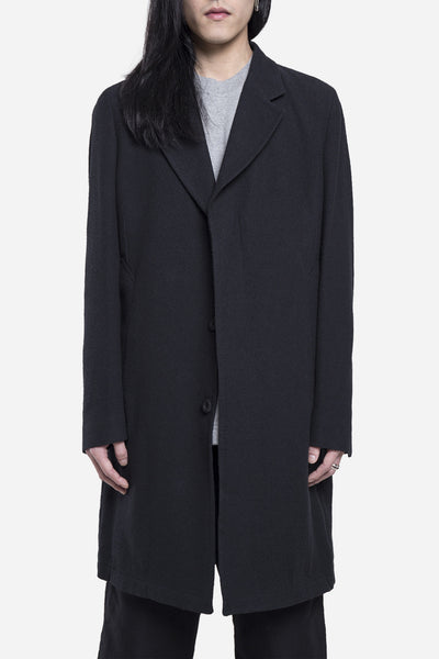 Our Legacy - Unconstructed Classic Coat Black