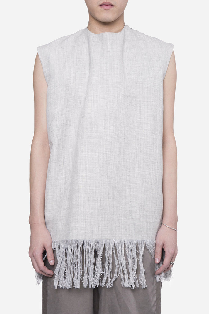 Sohn Tassled Vest Grey