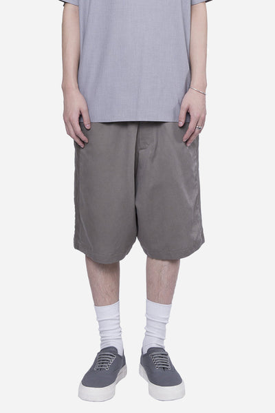 Second / Layer - Elastic Waist Short Beige