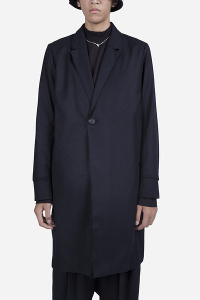 Necessity Sense - Zen Split Coat Nightfall Navy