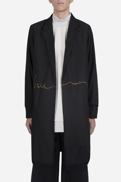 YellNow - Zen Slit Coat Dry Onyx