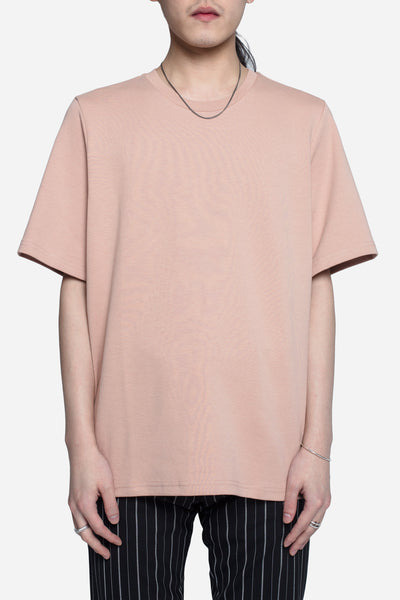 CMMN SWDN - Miles Relaxed Fit Tee Dusty Pink