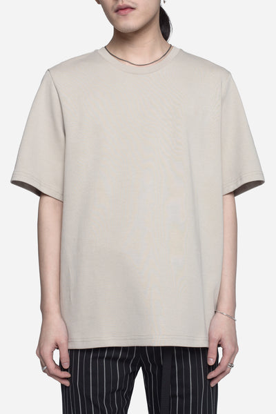 CMMN SWDN - Miles Relaxed Fit Tee Oatmeal