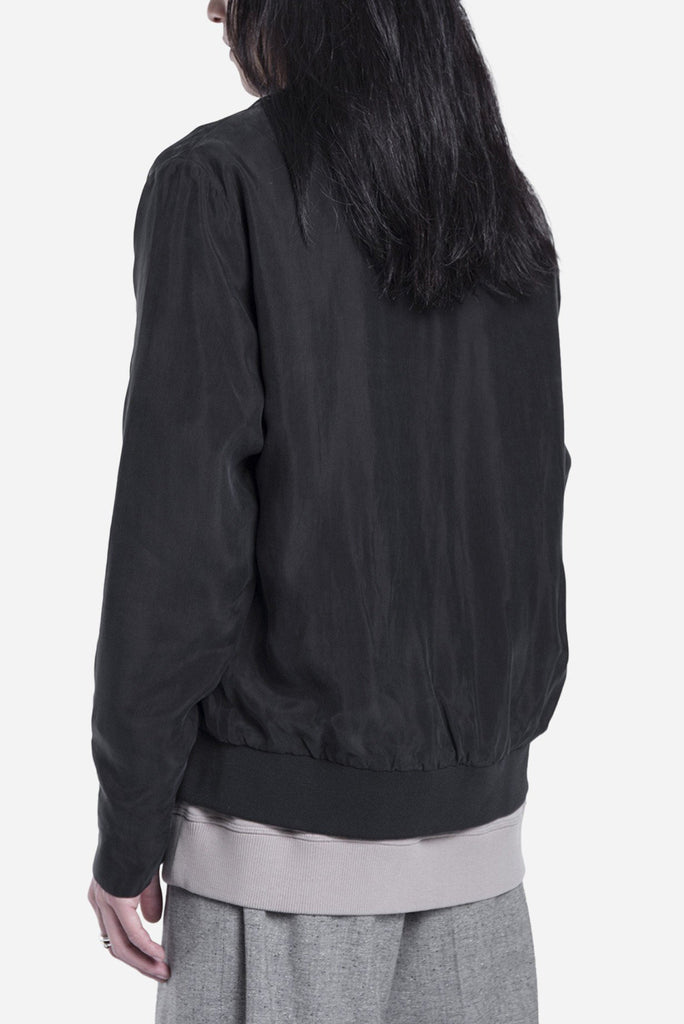 Milos Shirt Jacket Black