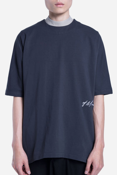 Seven Seconds of Memory - Toussa Oversized Panel Tee Cloudy Navy