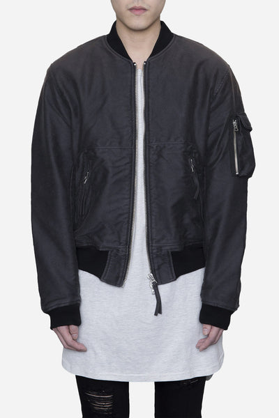 Our Legacy - Bomber Jacket Experienced Stain Grey
