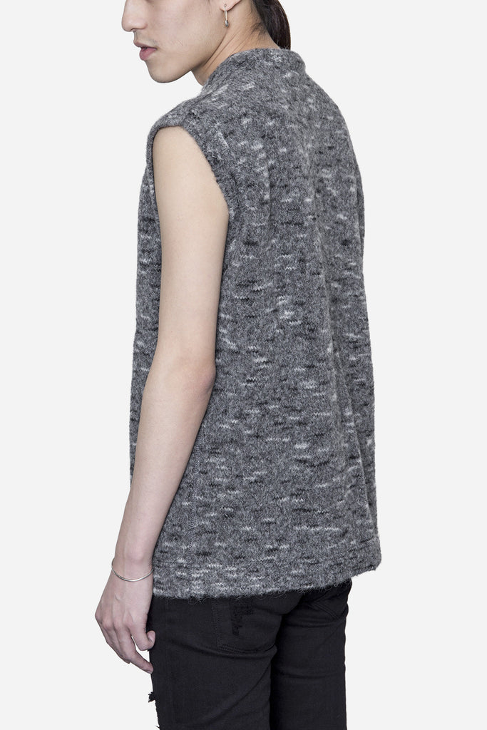Base Vest Spotted Grey