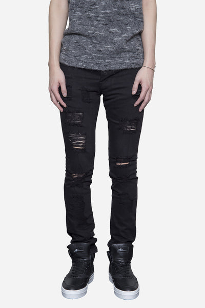 Stampd - Distressed Denim Black